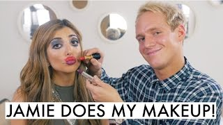 My Boy Friend Does My Makeup! Ft Jamie Laing | Amelia Liana