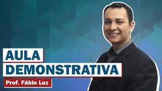 Vídeo 01 - Lei Orgânica - TCDF - Prof. Fábio Luz