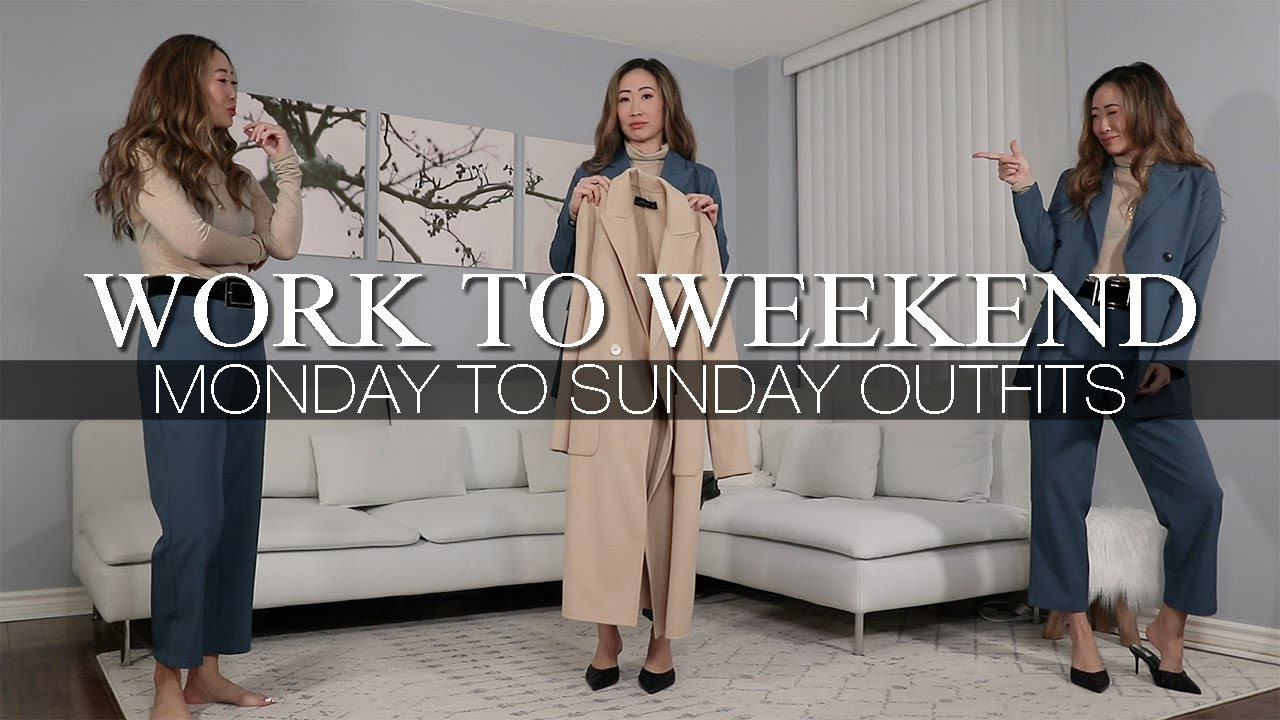[VIDEO] - WORK TO WEEKEND | FALL OUTFITS 9