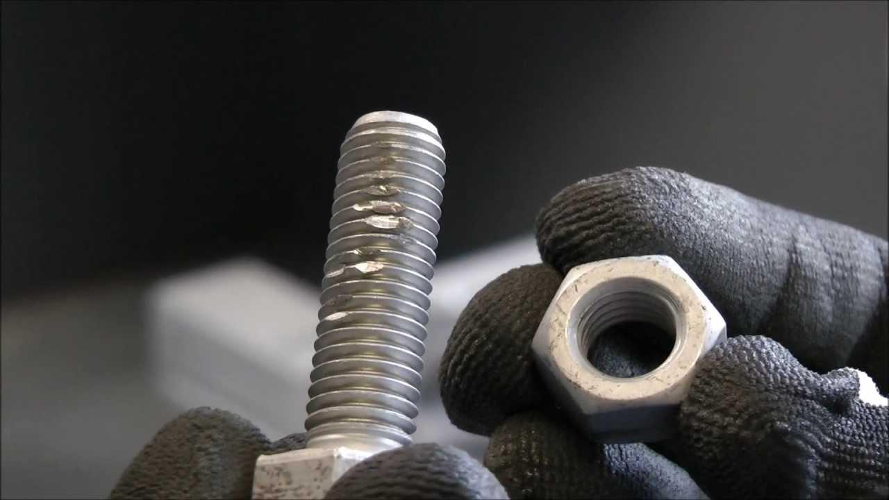 Stainless Steel Thread Galling Fasteners Rvs Inox Duroc Nv