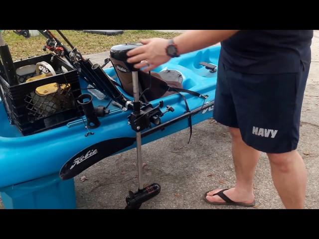 Hobie Odyssey  fishing Kayak walkaround
