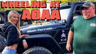 EAST COAST 4x4 WHEELING at the AOAA in our Jeep Wrangler JL!