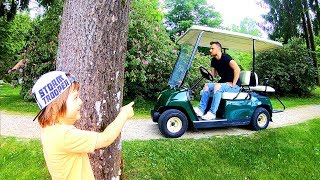 HIDE AND SEEK SPOT IN PARK | RIDE ON CARS & OUTDOOR ACTIVITIES FOR KIDS