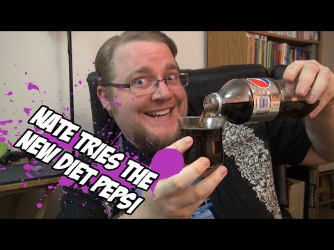 New Diet Pepsi review (aspartame free) - Old School Otaku Eats