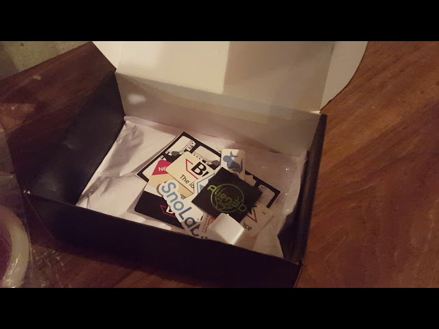 Alien3D UFO Box Unboxing