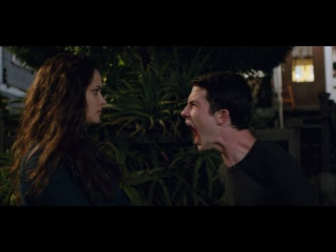 Клей кричит на Ханну 13 причин почему (13 Reasons Why)