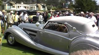 Pebble Beach 2009 Winner: 1937 Horch 853 Voll & Ruhrbeck Sport Cabriolet