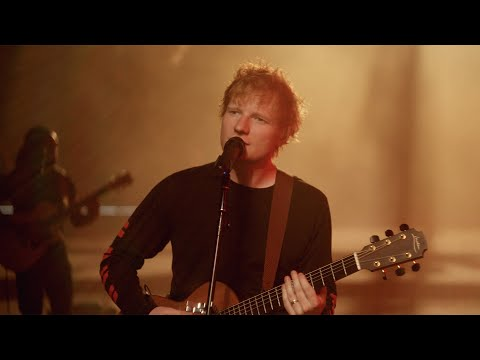 Ed Sheeran - Shivers [Official Performance Video]
