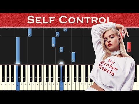 Bebe Rexha - Self Control | Piano tutorial
