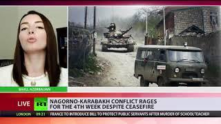 Leyla Abdullayeva talks to RT International