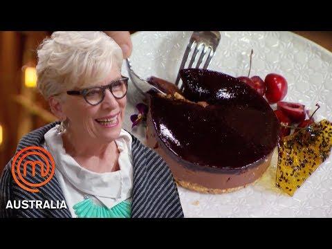 Maggie Beer Judges A Variety Of Experimental Dishes | MasterChef Australia | MasterChef World