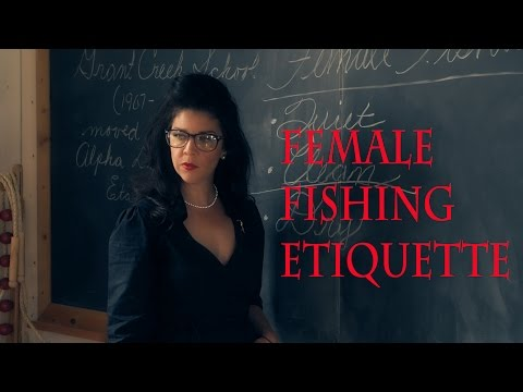 New Montana Fly Fishing Video - Female Fishing Etiquette