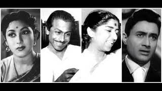 Ogo Aar Kichhu To Naai Tasveer Teri Dil Mein Lata Mangeshkar Mohammad Rafi Salil Chowdhury