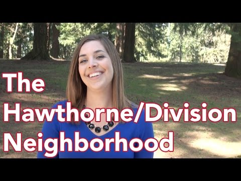 Portland's Hawthorne/Division Neighborhood
