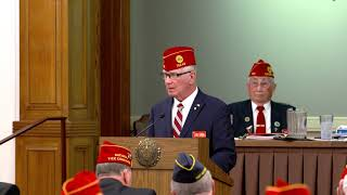 National Commander Addresses American Legion Executive Committee