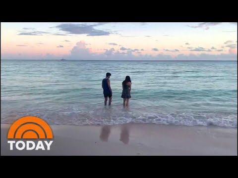 College Students Studying Remotely From Paradise | TODAY