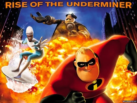 The Incredibles Rise of the Underminer Full Movie All Cutscenes Cinematic