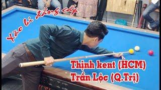 """D-BO: Thịnh kent """"xào cháy chảo"""" vs Trần Lộc - bida gom đỉnh cao - bida phăng 당구"""