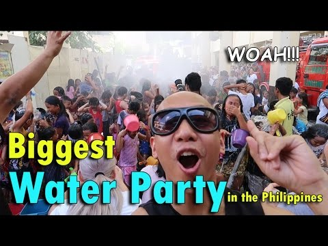 BIGGEST WATER PARTY in the PHILIPPINES | May 17th, 2017 | Vlog #117