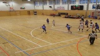 CEYBL, The Final tournament - ŠBK Handlová - BK Opava