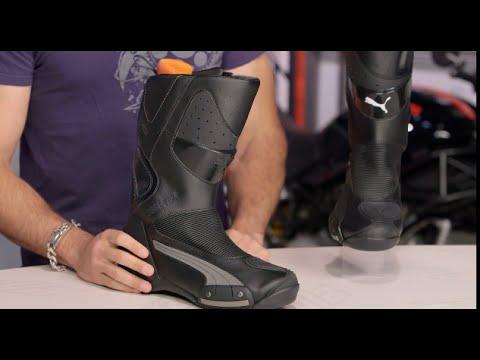 Arte Vislumbrar simpático  Puma 500 GTX Boots Review at RevZilla.com - YouTube