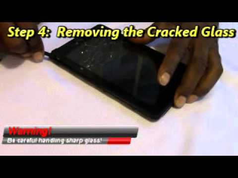 How to replace a Cracked Kindle Fire Screen