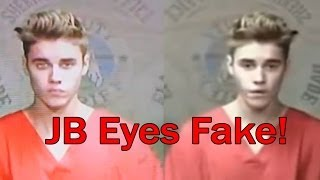 Justin Bieber Eyes Change FAKE!