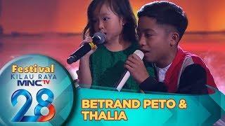GEMESH BGT! Betrand Peto Ft Thalia [SAHABAT KECIL]  - Festival Kilau Raya 28