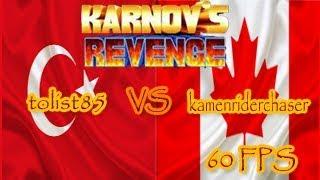 Fightcade || Karnov's Revenge || tolist85 (Turkey) vs kamenriderchaser (Canada) [60FPS]