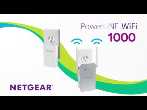 NETGEAR PowerLINE WiFi 1000 Product Tour - Gigabit Wired Speeds