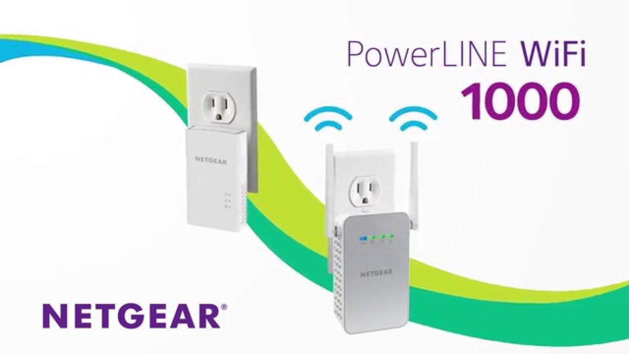 NETGEAR PowerLINE Wi-Fi 1000 - Essentials Editions (PLW1010-100NAS)