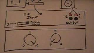 How To Set Up A PA - Pt 3 - Amp Settings Stereo/Bridge Mono