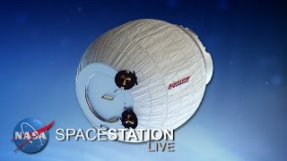 Space Station Live: BEAMing up to ISS