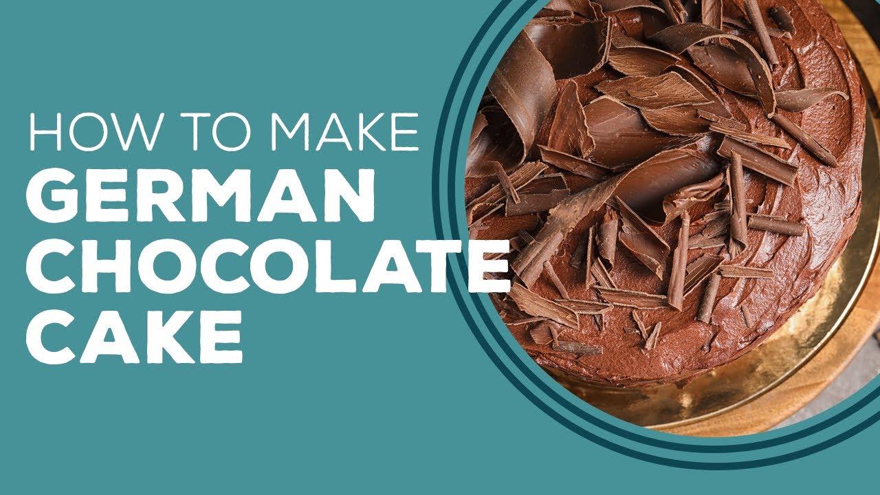 Blast From The Past German Chocolate Cake Recipe Youtube