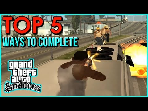 GTA San Andreas - How To Complete the Mission