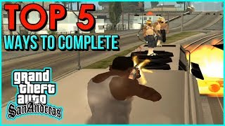 """GTA San Andreas - How To Complete the Mission """"Wrong Side Of The Tracks"""" 