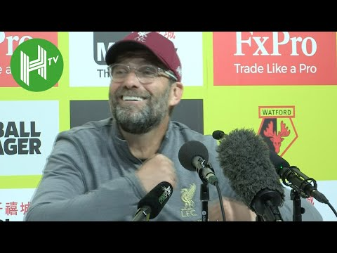 Watford 0-3 Liverpool | Jurgen Klopp: Mo Salah was NOT mocking Sergio Ramos during goal celebration