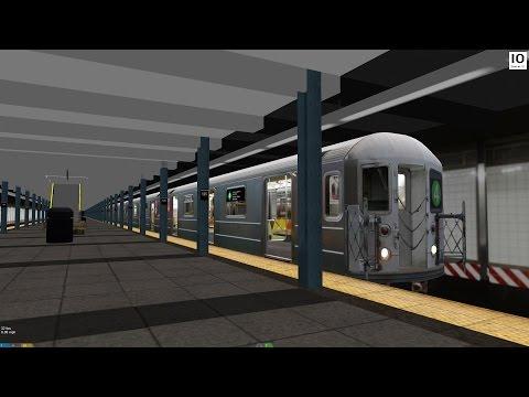 OpenBVE: R62A 4 Train from 125th Street to Brooklyn Bridge
