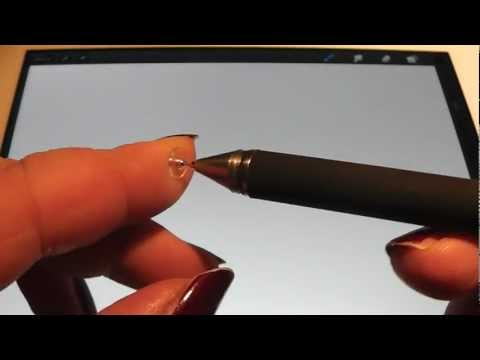Review Adonit Jot Pro V2 With Artrage And Procreate On An IPad 2
