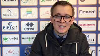 Next Shrewsbury Town manager: Lewis Cox issues managerial update