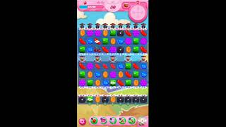 Candy crush saga 738 level is complete