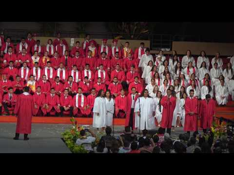 Kahuku Graduation 2017 Senior Medley in 4K