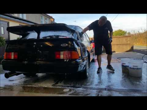 Sierra Cosworth RS500 at the car carer detailing