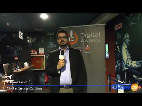 NC Digital Awards 2017. Tiziano Tassi, CEO di Caffeina