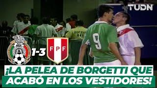 ¡Hasta los vestidores! Perú golea a México y se desata una trifulca | Mexico 1-3 Perú - 2003 | TUDN