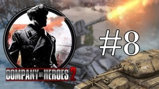 Company of Heroes 2 Let's Play Walkthrough Gameplay - Panzer Hunting - Part 8