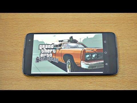BlackBerry DTEK60 Gaming Review GTA San Andreas! (4K)