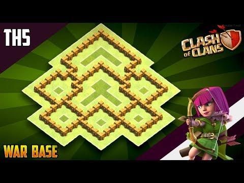 Base Coc Th 5 War Terkuat 10