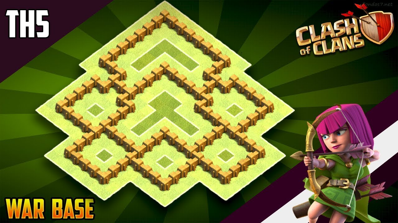 New Coc Th 5 Base 8