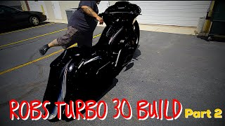 Nasty 30БЂ« Turbo Harley Road Glide (part 2) whatБЂ™s it look like now?